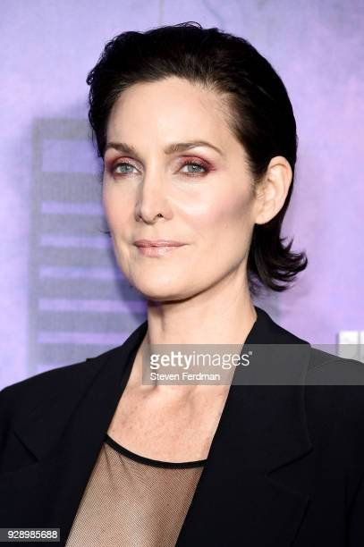 CarrieAnne Moss attends 'Jessica Jones' Season 2 New York Premiere at AMC Loews Lincoln Square on March 7 2018 in New York City