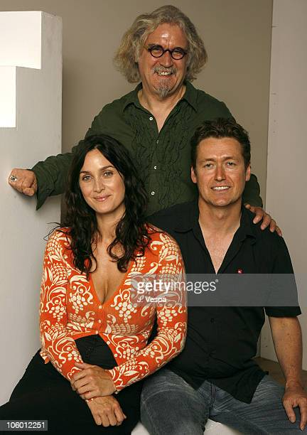 CarrieAnne Moss Billy Connolly and Andrew Currie writer/director