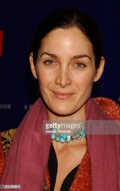 CarrieAnne Moss during 2002 Sundance Film Festival William Morris Party hosted by Diesel Jeans A Diamond is Forever and Details Magazine at The Shop...