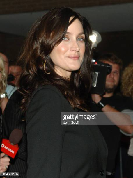 CarrieAnne Moss during 31st Annual Toronto International Film Festival 'Fido' Premiere at Roy Thompson Hall in Toronto Ontario Canada