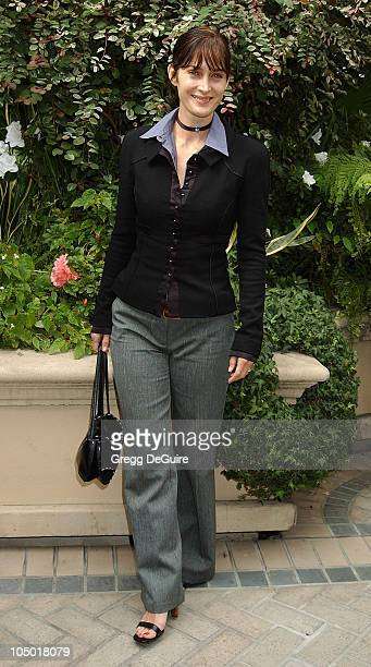 CarrieAnne Moss during 9th Annual Premiere Magazine 'Women In Hollywood' Luncheon at The Four Seasons Hotel in Beverly Hills California United States