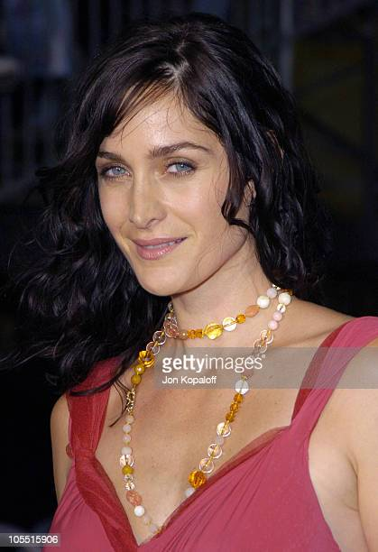 CarrieAnne Moss during Collateral Los Angeles Premiere Red Carpet at The Orpheum Theatre in Los Angeles California United States