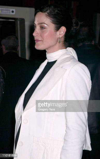 CarrieAnne Moss during New York Premiere of Matrix Reloaded at Ziegfeld Theater in New York City New York United States