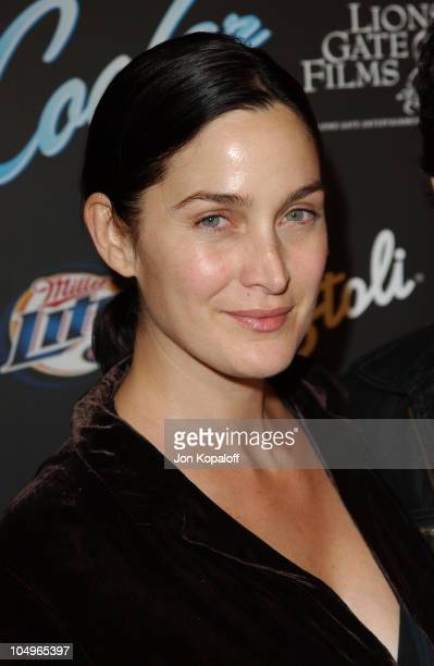 CarrieAnne Moss during The Cooler Los Angeles Premiere at The Egyptian Theater in Hollywood California United States