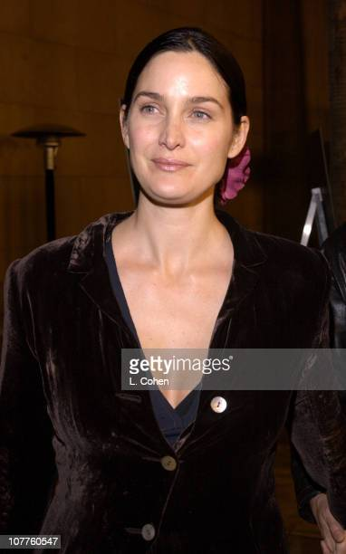 CarrieAnne Moss during 'The Cooler' Los Angeles Premiere Red Carpet at The Egyptian Theater in Hollywood California United States