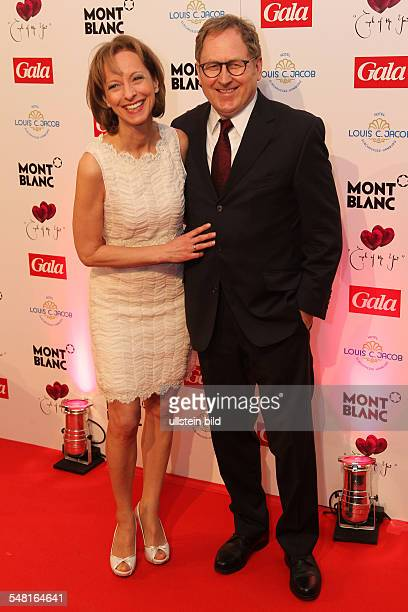 Carriere Mareike Actress Germany with husband Gerd Klement during 'Couple of the year' in Hamburg Germany