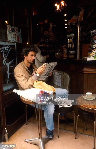 Carriere Mathieu Actor Germany at a bistro in Paris