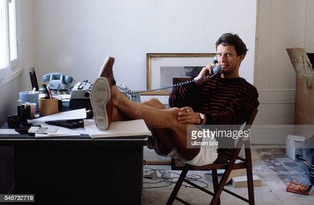 Carriere Mathieu Actor Germany at his home in Paris