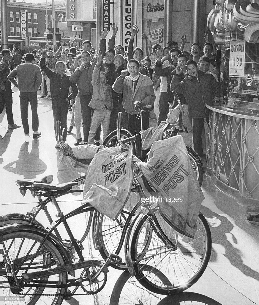 Denver News A Line: OCT 17 1964, OCT 18 1964; Carriers Have Their Day; Denver