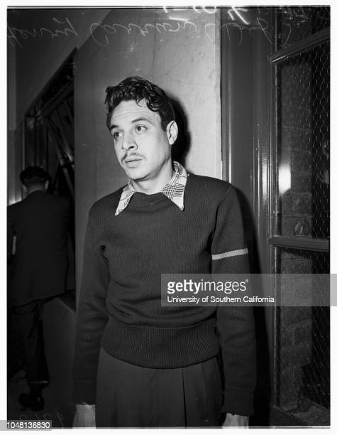 Carrion Bigamy Preliminary Hearing, 17 October 1951. Mrs Julia Maldonado Carrion ;Mrs Margaret Grim Carrion ;Henry Carrion ..