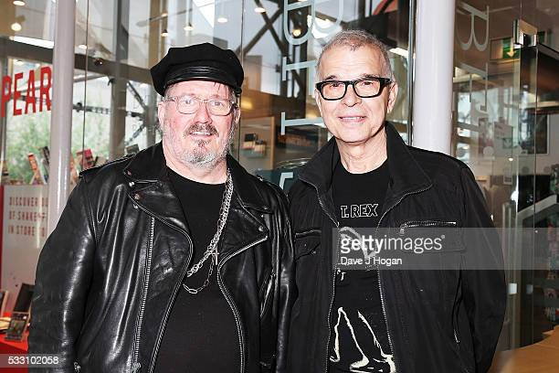Carroll and Tony Visconti attend a special screening of the motion picture 'Born to Boogie' to celebrate the films release on bluray at BFI Southbank...