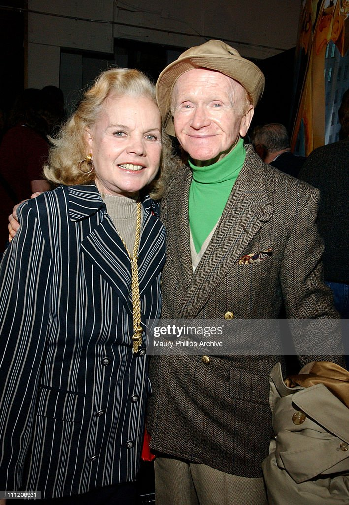 Carroll Baker & Red Buttons during Press Conference to Open The Motion Picture Hall of Fame in Hollywood at Hollywood & Vine in Hollywood, California, United States.