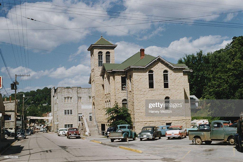 Carroll County Courthouse, Eureka Springs, Arkansas, circa
