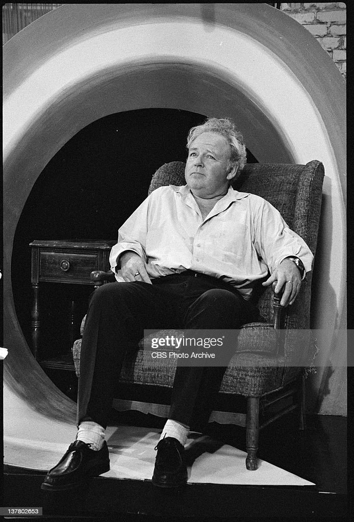 Carroll O Connor As Archie Bunker In Archie S Chair Image
