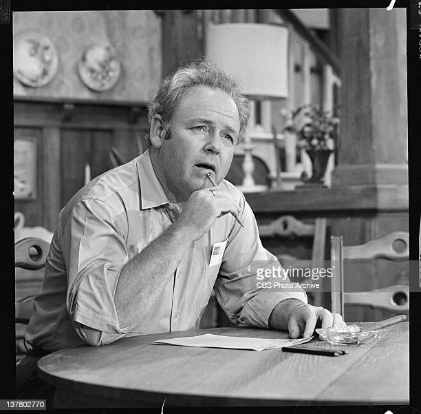 """Carroll O'Connor as Archie Bunker in """"Writing the President""""."""