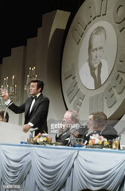 SHOW Carroll O'Connor Episode 11 Aired 12/7/73 Pictured Mike Connors Carroll O'Connor