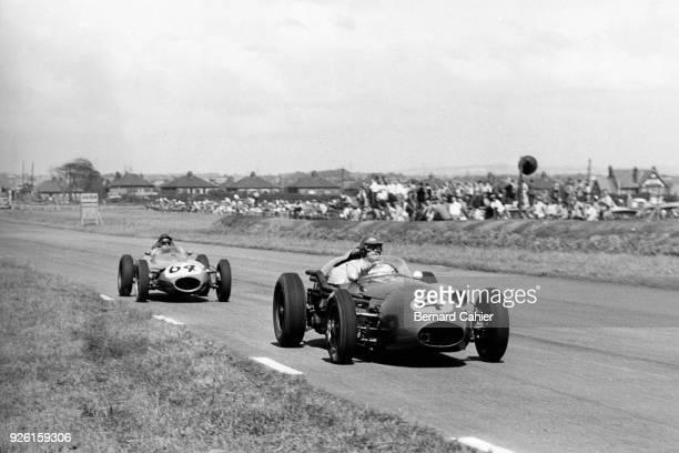 Carroll Shelby, Aston Martin DBR4, Grand Prix of Great Britain, Aintree, 18 July 1959.