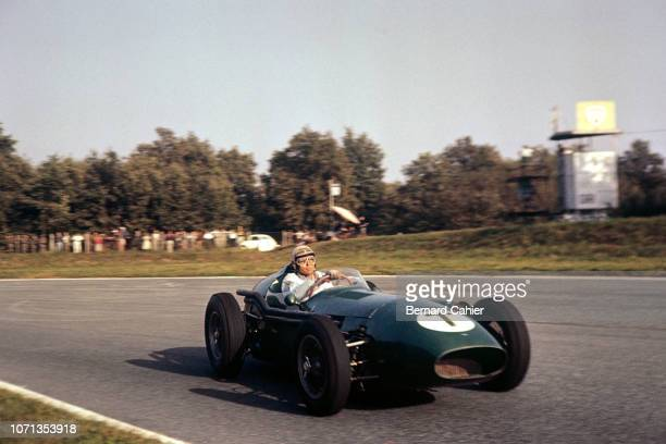 Carroll Shelby, Aston Martin DBR4, Grand Prix of Italy, Autodromo Nazionale Monza, 13 September 1959.