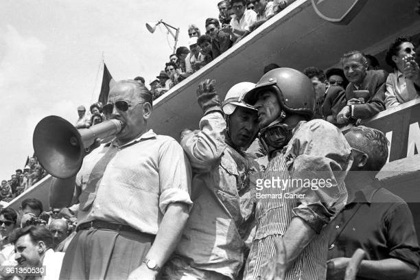 Carroll Shelby, Roy Salvadori, 24 Hours of Le Mans, Le Mans, 21 June 1959. Carroll Shelby with codriver Roy Salvadori during the 1959 24 Hours of Le...