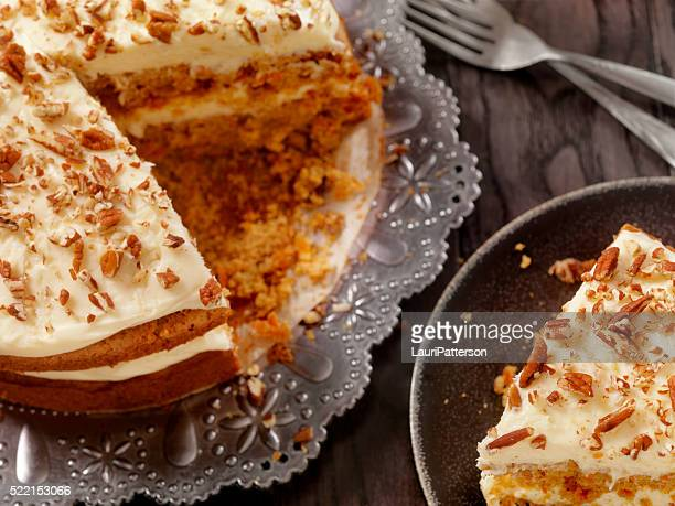 Carrot Cake with Cream Cheese Icing