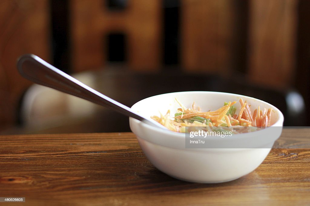 carrot salad : Stock Photo