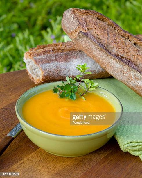 Carrot Soup Healthy Food, Vegetable & Vegetarian Picnic Meal