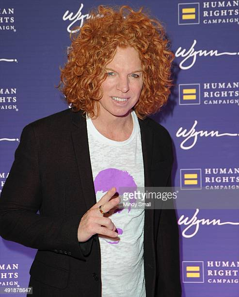 Carrot Top arrives at the 9th Annual Human Rights Campaign Gala at the Wynn Las Vegas on May 17, 2014 in Las Vegas, Nevada.