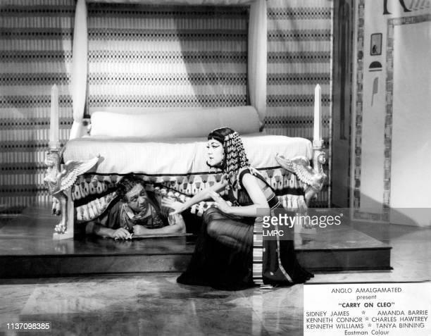 Sid James as Mark Antony Amanda Barrie as Cleopatra 1964