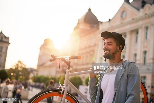 Carrying a bike
