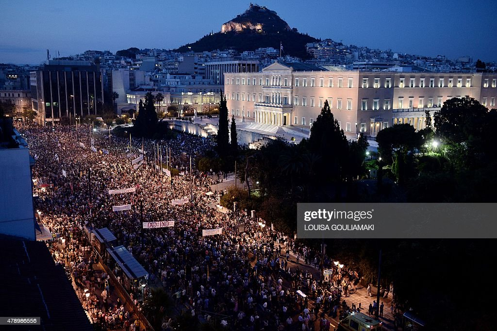 GREECE-POLITICS-ECONOMY-DEMO : News Photo