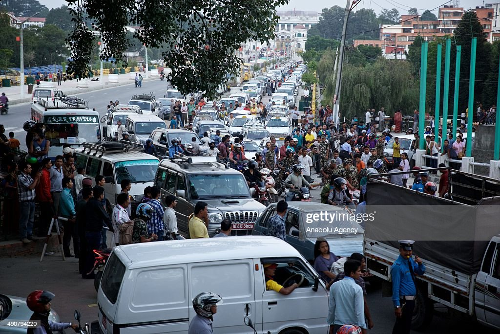 Fuel Crisis in Nepal : News Photo