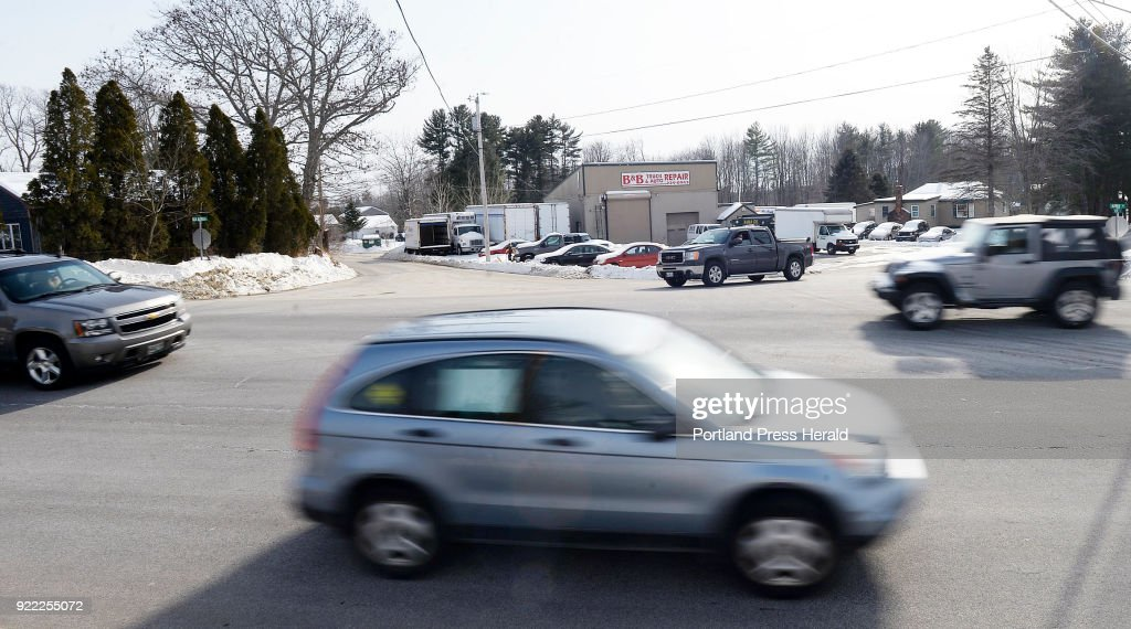 Route 111 in Arundel : News Photo