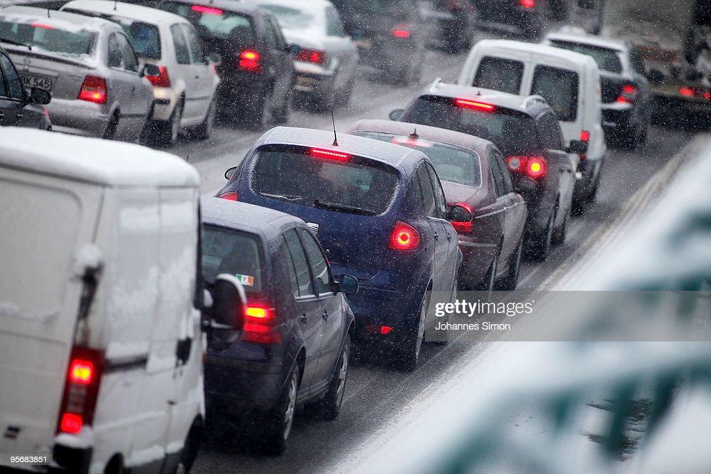Freezing Temperature Hit Germany : Nachrichtenfoto
