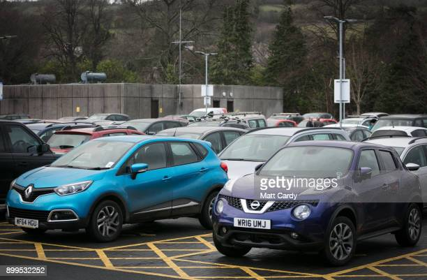 Cars are parked in a car park at the Royal United Hospital on December 29 2017 in Bath England A recent Freedom of Information Act has...
