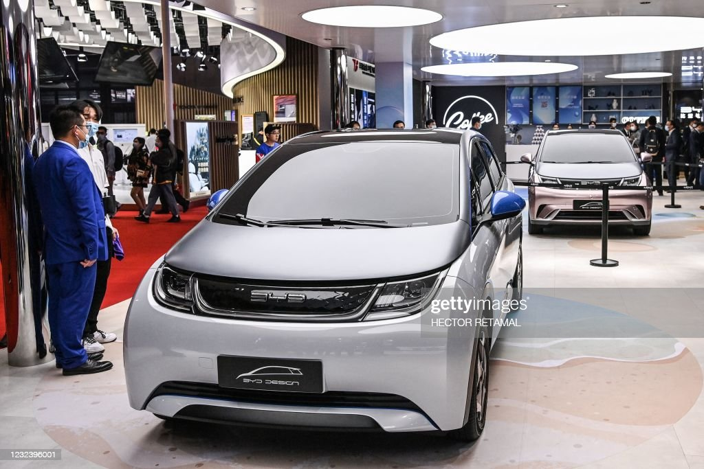 CHINA-AUTO-SHOW : News Photo