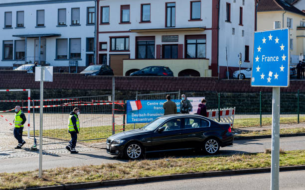 DEU: Germany Imposes Restrictions At Moselle Border To France