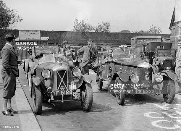 Cars at the North West London Motor Club Trial Osterley Park Hotel Isleworth 1 June 1929 Salmson 1087 cc Reg No YF5128 Entry No 1 Driver Higgs J...