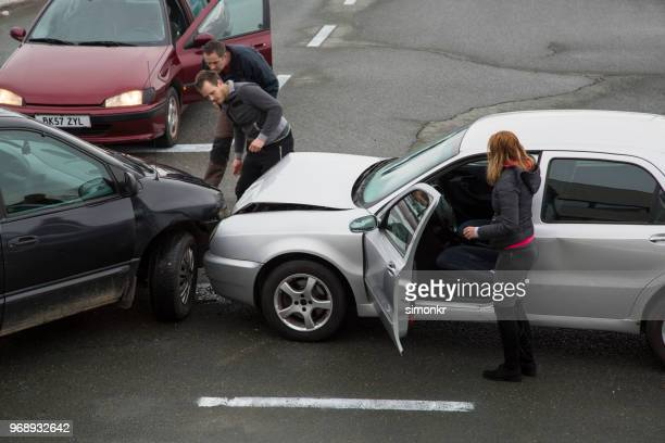 cars collision - crash stock pictures, royalty-free photos & images
