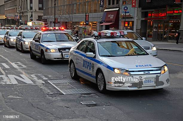 Car's Drill On Terrorism Photo taken Wednesday November 26 2008 Emergency Drill Police Car Patrol Car Squad Car Terrorism Drill Public Safety Protect...