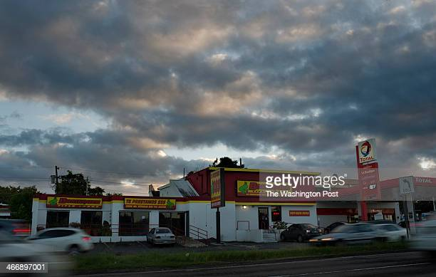 Cars Drive By Borinquen Title Loans Formerly A Bank Branch On Wednesday November   The