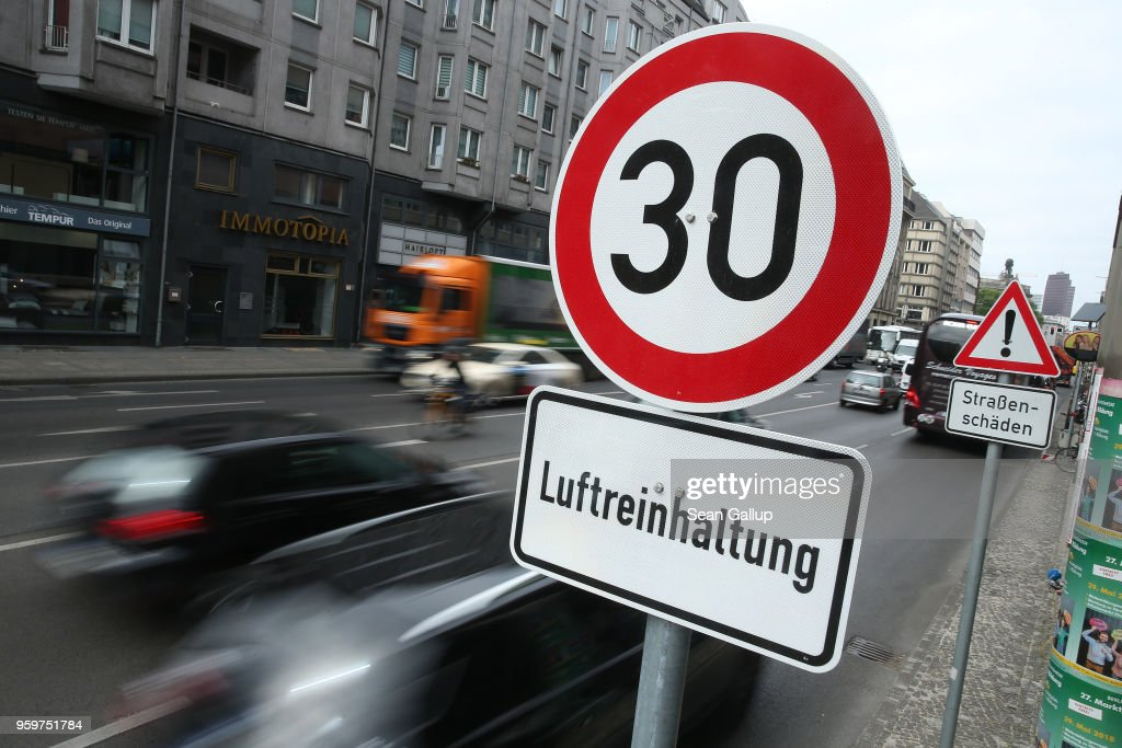 Germany Faces Fines Over Air Pollution