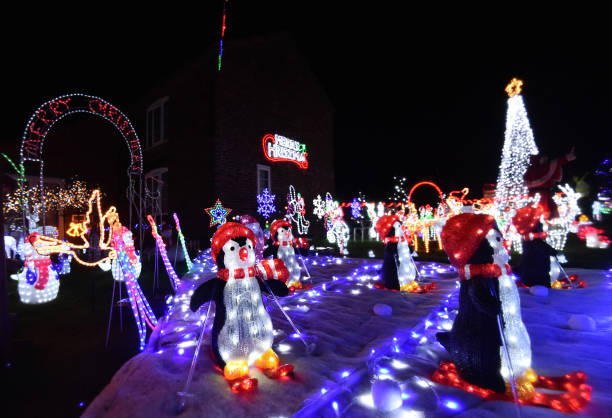 GBR: A Weston Home Puts On Spectacular Christmas Lights Display For Charity