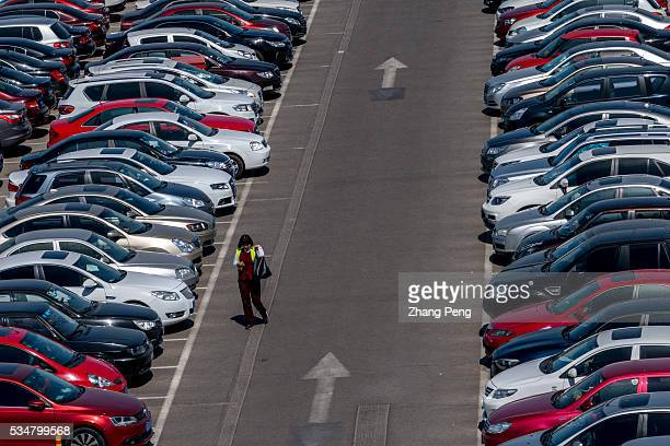 Cars in a large parking lot According to a recent McKinseys survey auto sales growth will slow to 5% annually through 2020 The vehicle sales rose 12%...