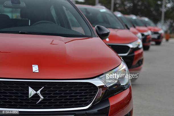 DS4 cars in a row