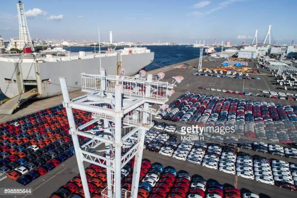 Cars In Dock