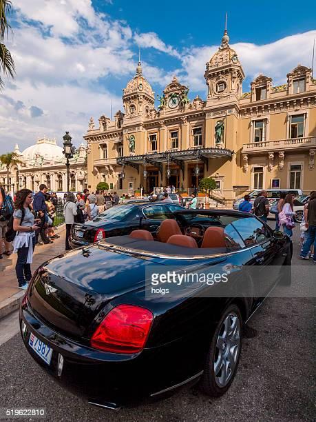 Cars in Monte Carlo, Monaco