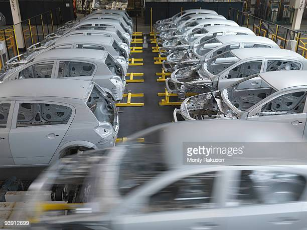 Cars In Production In Plant