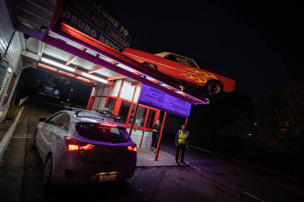 AUS: Melbourne Drive In Cinema Reopens As Victorian Coronavirus Restrictions Ease