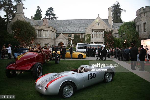 Cars of the Stars on the lawn at the Playboy Mansion in Los Angeles California on August 11 2007