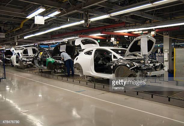 Autos auf der Produktion